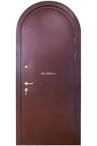 Входная металлическая арочная дверь SteelDoor АР-4