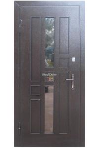 Входная металлическая дверь с ковкой SteelDoor К-7