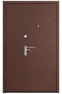 Тамбурная распашная металлическая дверь SteelDoor ЭКО-6