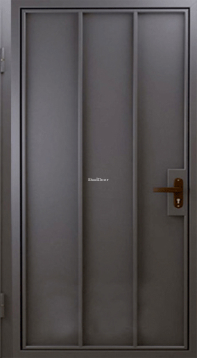 Стальная техническая дверь SteelDoor Эко-1