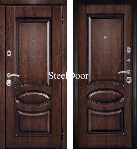тамбурные металлические двери эконом класса