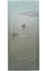 Входная металлическая дверь с ковкой SteelDoor К-3