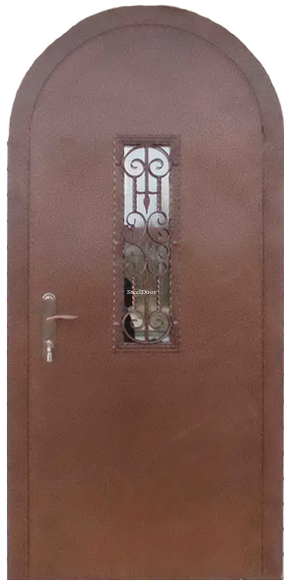 Входная металлическая арочная дверь SteelDoor АР-2