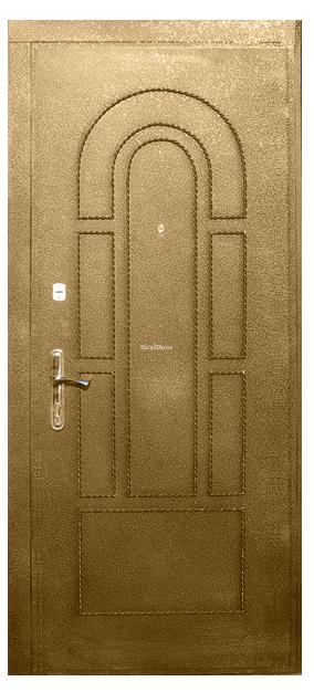 Входная металлическая дверь с ковкой SteelDoor К-5